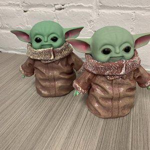 Star Wars Baby Yoda Figure Desk Toy Ornament OS